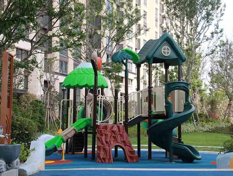 Commercial mutifunction standard size for kids outdoor kid indoor playhouse OKD03101