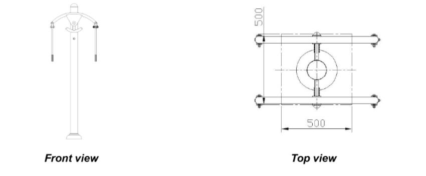 ST-S01X Arm Extension Apparatus