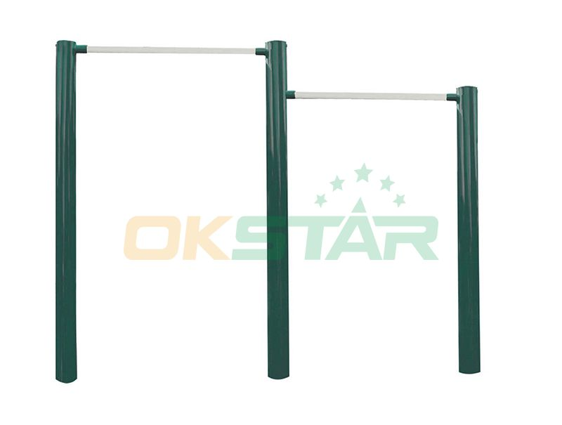 ST-D02 TUV certified outdoor fitness products Horizontal Bars