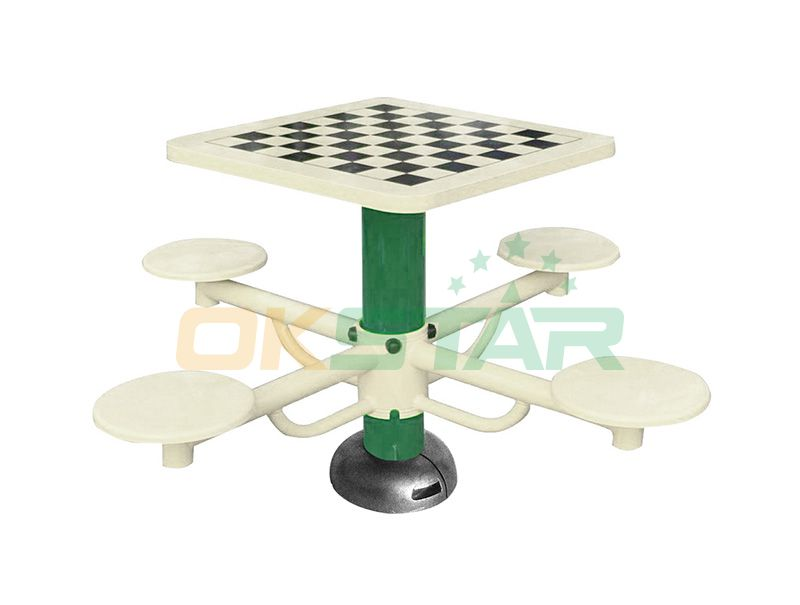 ST-Q02X TUV certified outdoor fitness products Chess Desk