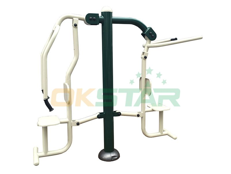 ST-PC01 TUV certified outdoor fitness products Chest Press Lat Pull
