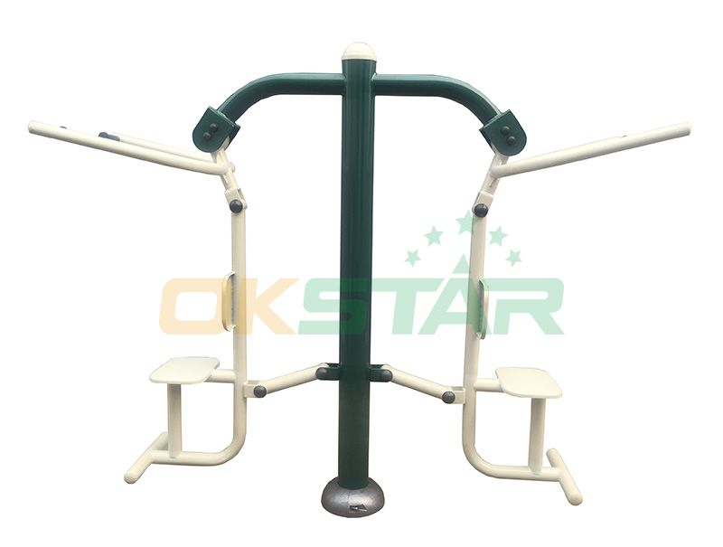 ST-Z04X TUV certified outdoor fitness products Pull Down