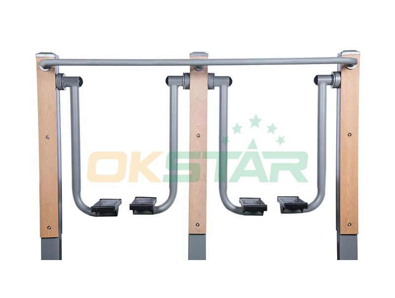 LK-M01 wpc outdoor exercise equipment Air Walker(Double)