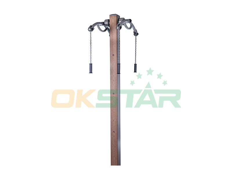 LK-S06 wpc outdoor exercise equipment Arm Extension Apparatus