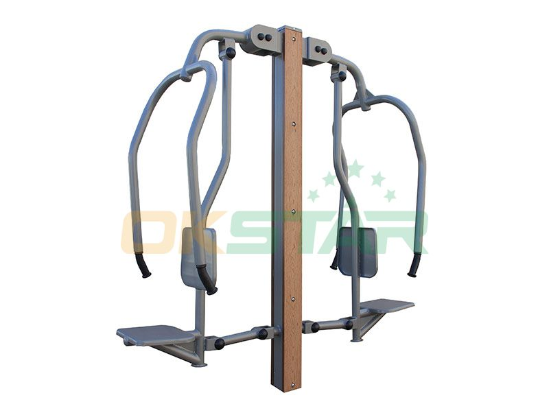 LK-Z03 wpc outdoor exercise equipment Chest Press
