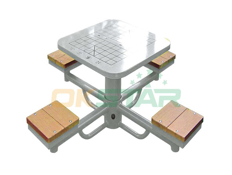LK-Q01 wpc outdoor exercise equipment Chess Desk
