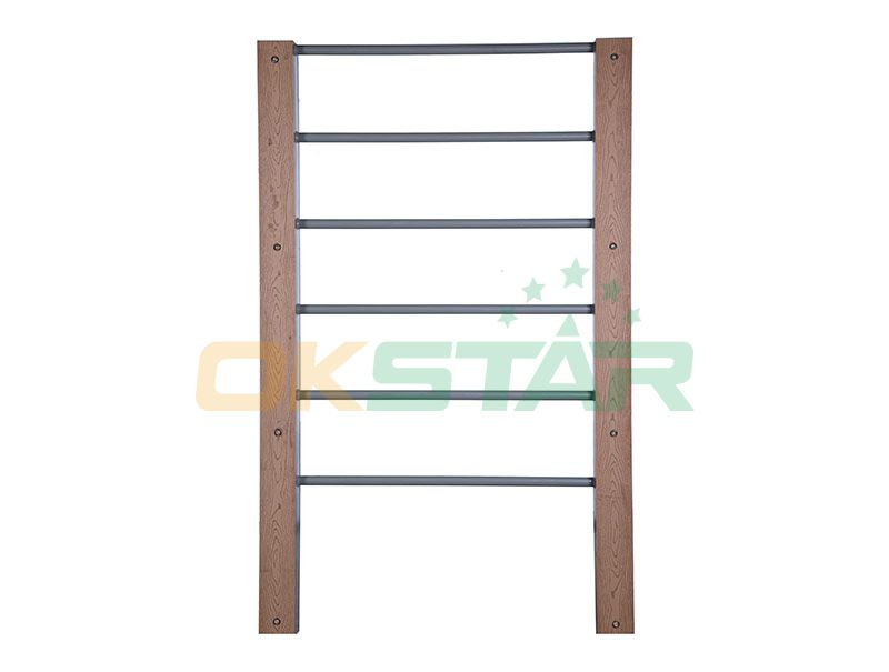 LK-L02 wpc outdoor exercise equipment Wall Bars