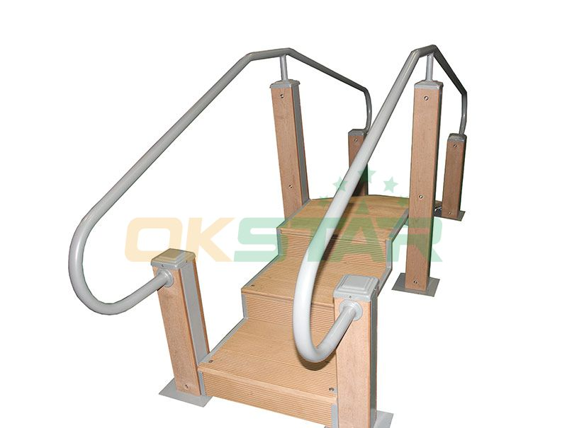 KF-T01 outdoor fitness equipment for disabled people Step Walking Trainer