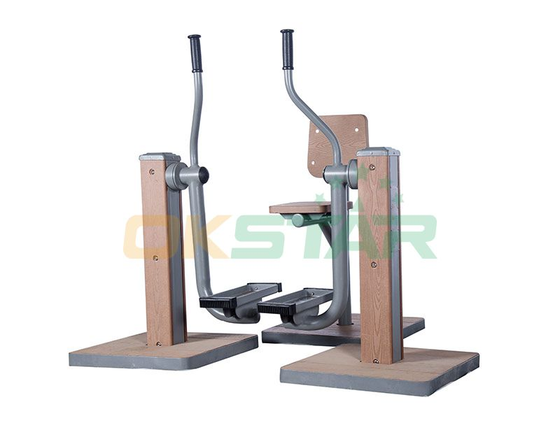 KF-S07 outdoor fitness equipment for disabled people Upper and Lower Limbs Coordination Trainer