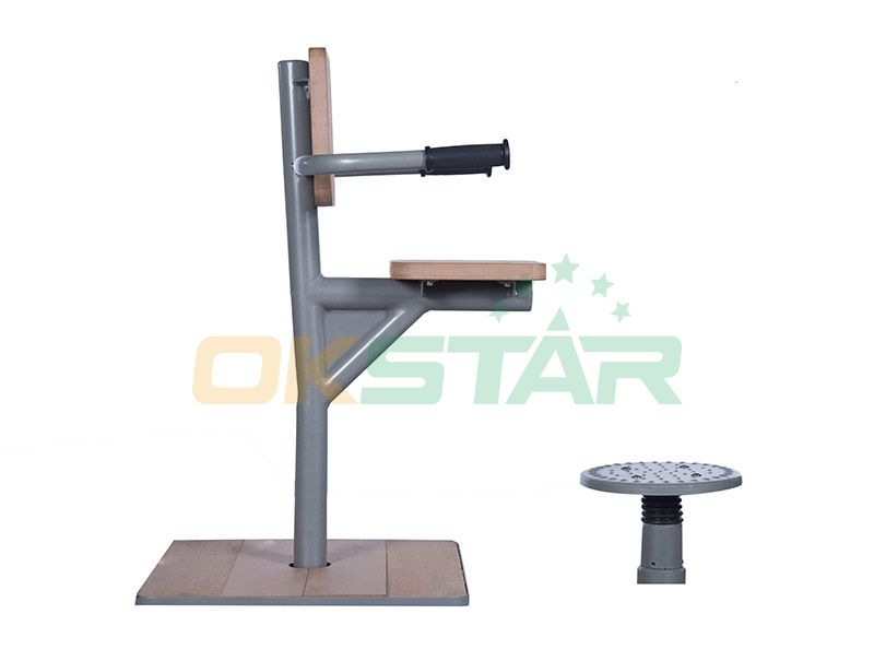 KF-H01 outdoor fitness equipment for disabled people Ankle Trainer
