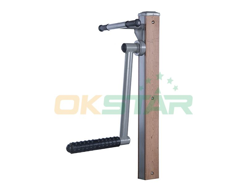 KF-C01 outdoor fitness equipment for disabled people Side Kick Trainer