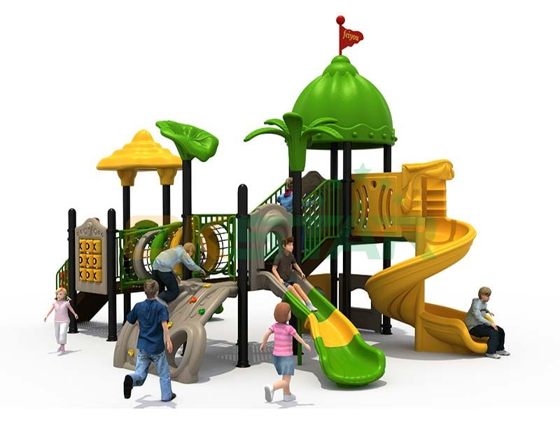 Child slide swing