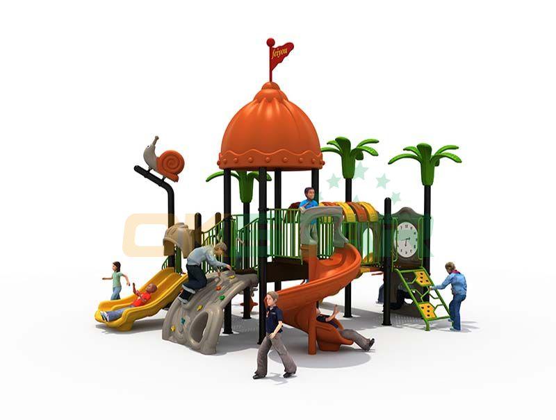 Hot sale plastic outdoor playground