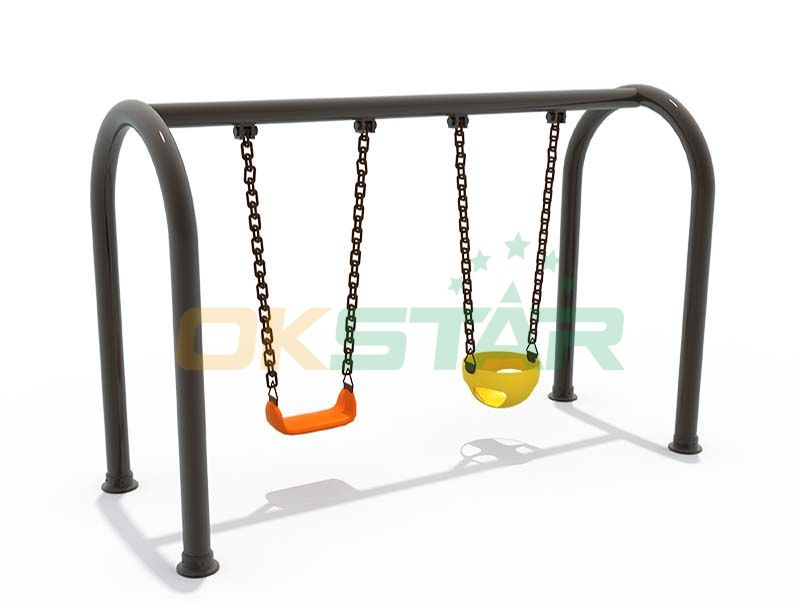 heavy duty swing sets with double sets