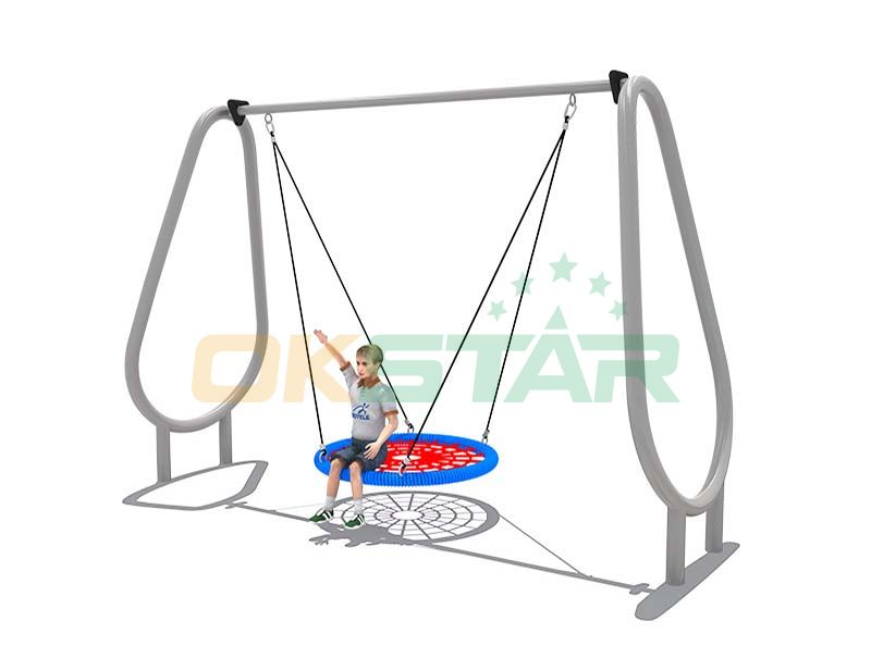 outdoor baby swing with stand