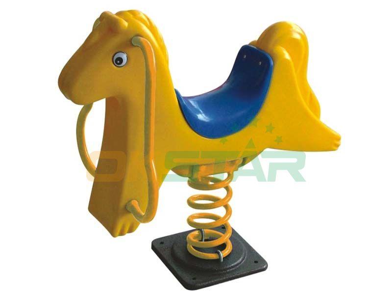 Horse Spring Rider for Outdoor Playground Center