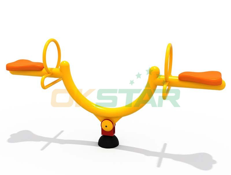 outdoor children play Outdoor seesaw