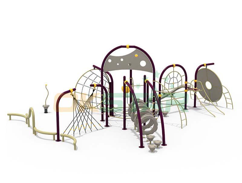 Outdoor gym playground equipment