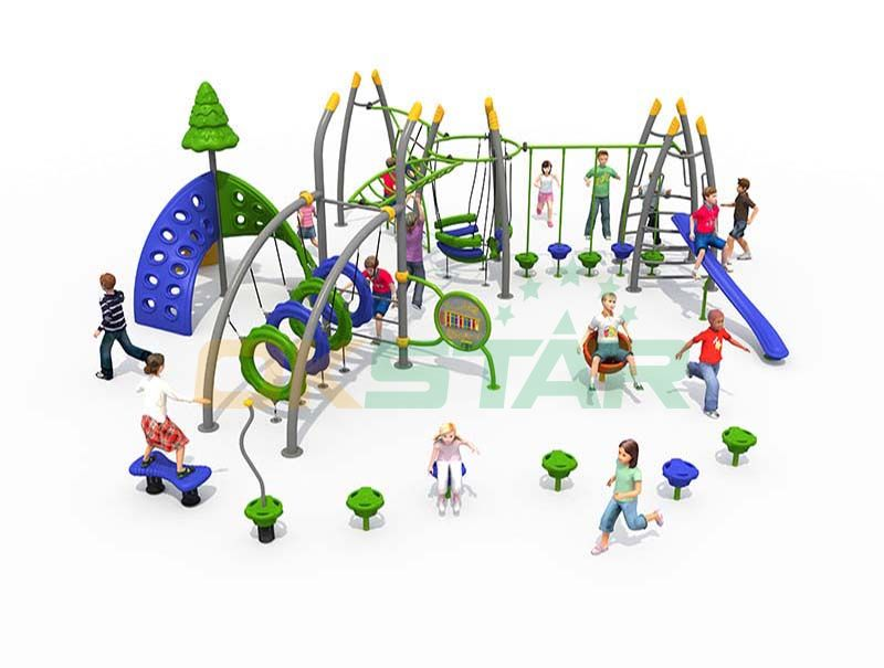 Enriching Childhood Through Play Outdoor Gym Playground