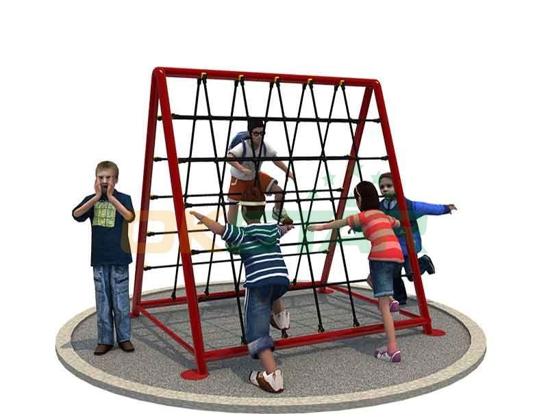 children outdoor playground outdoor climbing netsclimbing rope net
