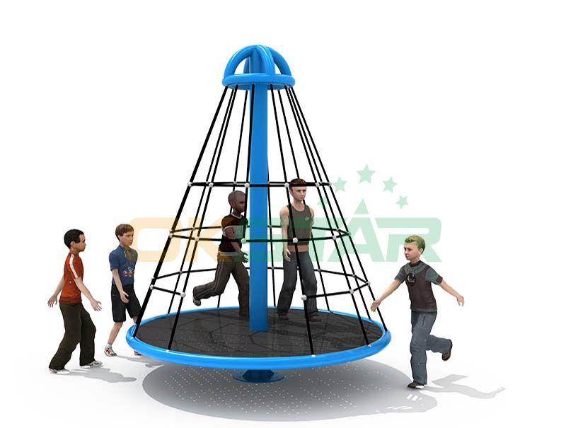 Rope Climbing Structure Net Playground Equipment