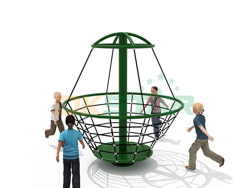 Kids Outdoor Playground Climbing Net Structure Rope