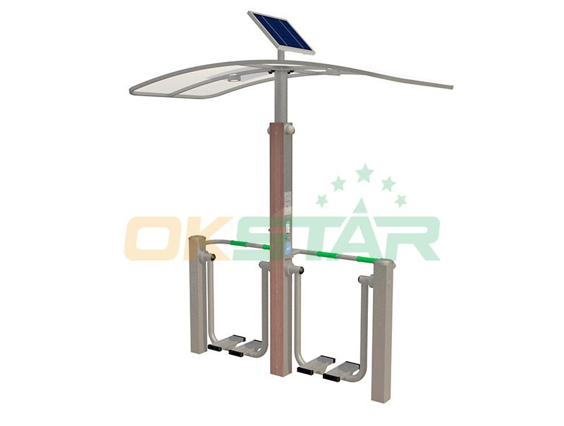 ISO approved outdoor gym equipment Air walker