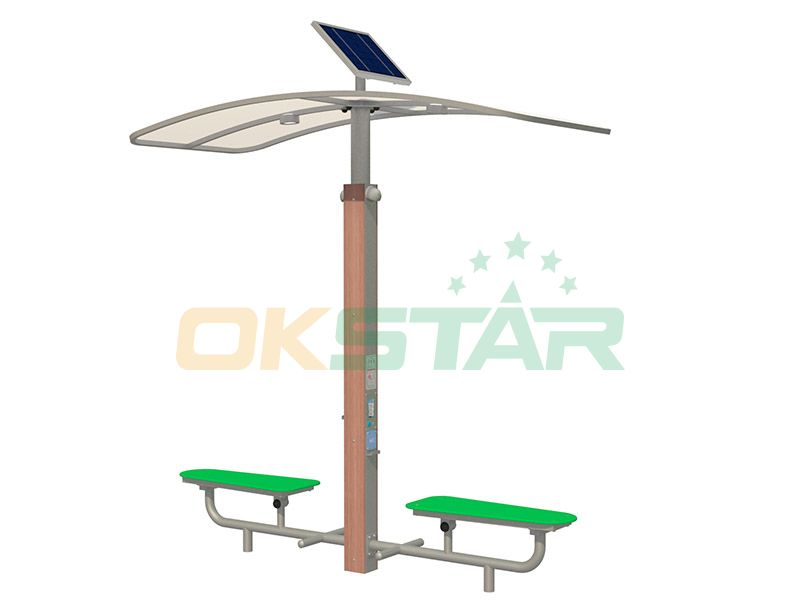 ISO approved outdoor gym equipment Sit-up Board