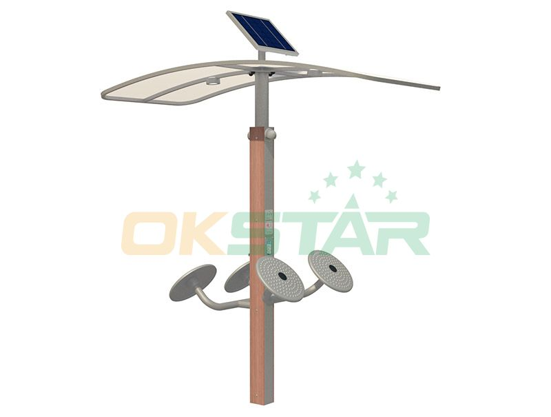 ISO approved outdoor gym equipment Taichi