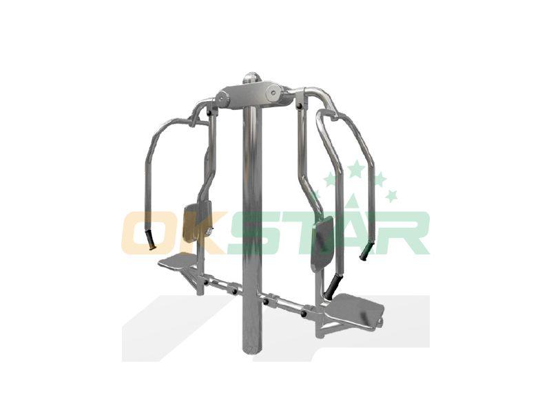urban park workout equipment Chest press