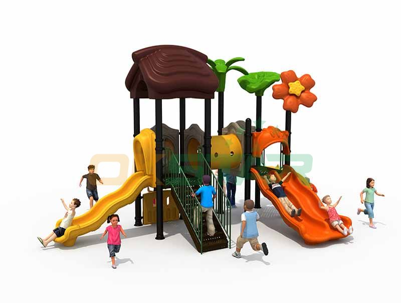 Steel playground garden swing