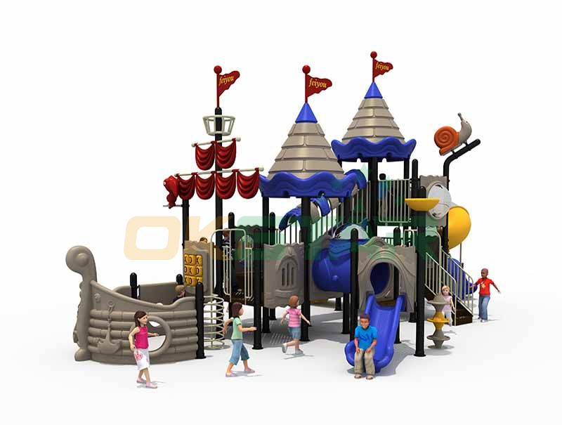 Children game play structure