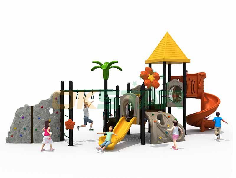 Funland slide playground