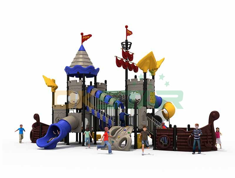 Outdoor toy structures