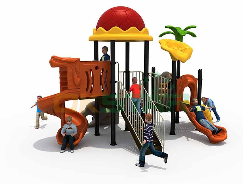 big outdoor playground slide games