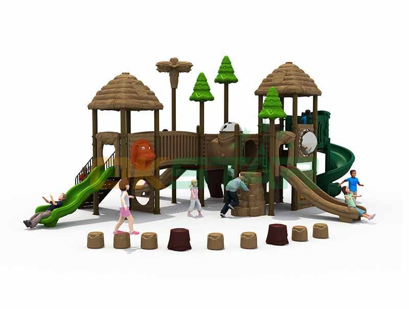 kids outdoor play zone commercial grade playground equipment china suppiler