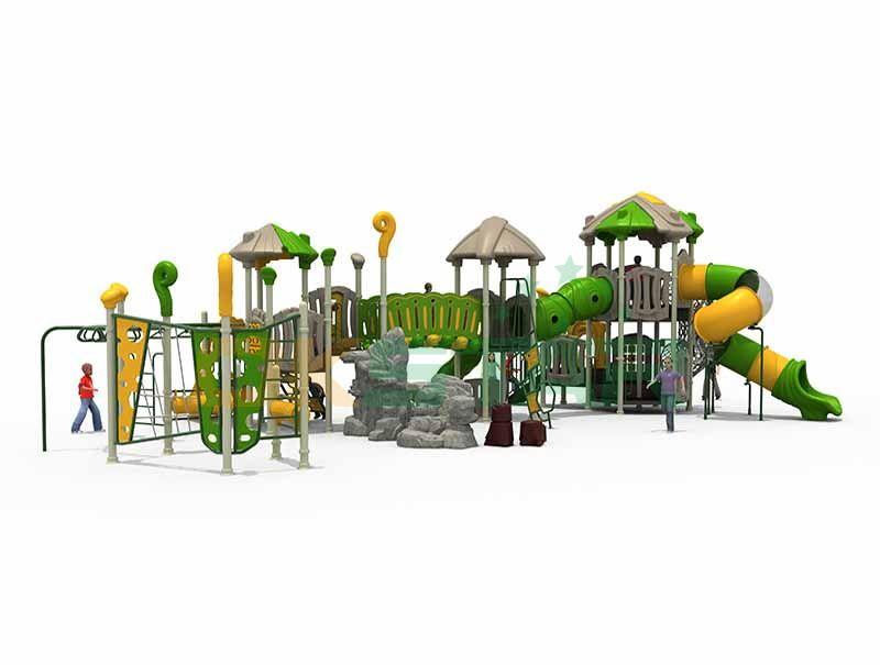 First hand playground equipment at preschool
