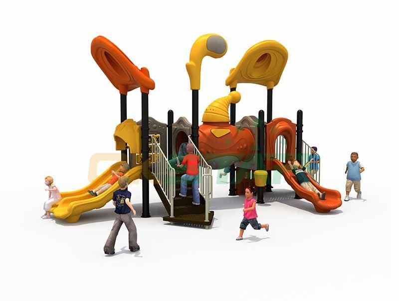 Outdoor playground floor