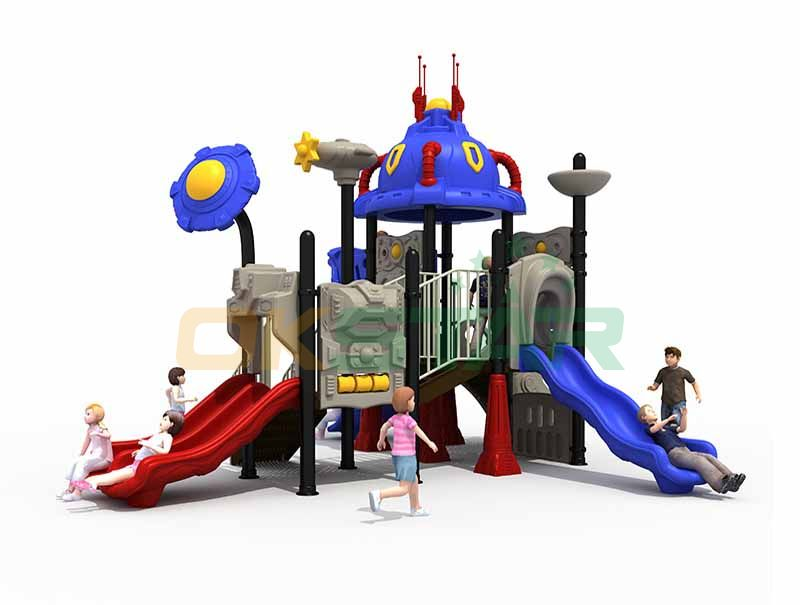 Playground outdoor climbing frames