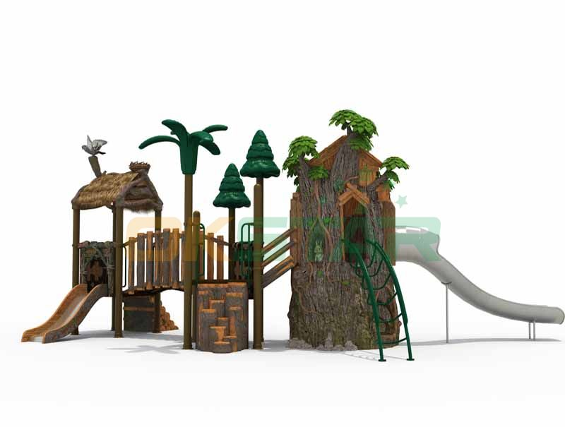 Natural Cute animal home design with stainless steel for kindergarten use