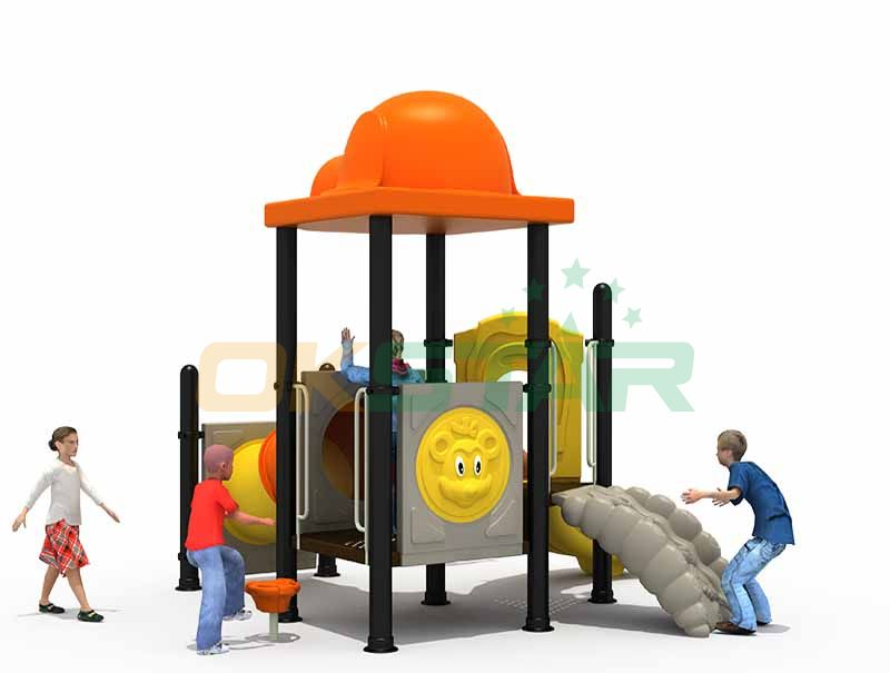Durable Hot Sale Outdoor Slide Playground Set, Custom Made Slide Kids Playground Outdoor