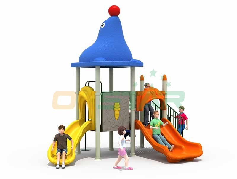 European standard professional plastic and steel outdoor playground park