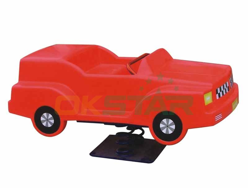 outdoor playground discount motor car playground spring rider