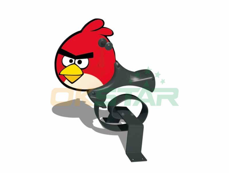 Angry bird spring rider kindergarden spring riders