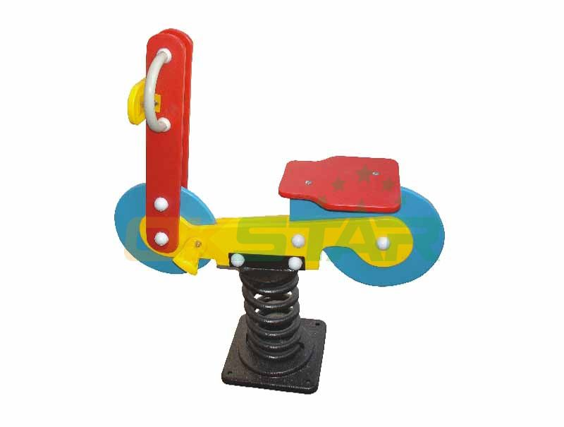 Horse play sets horse spring rider for Outdoor Playground Center