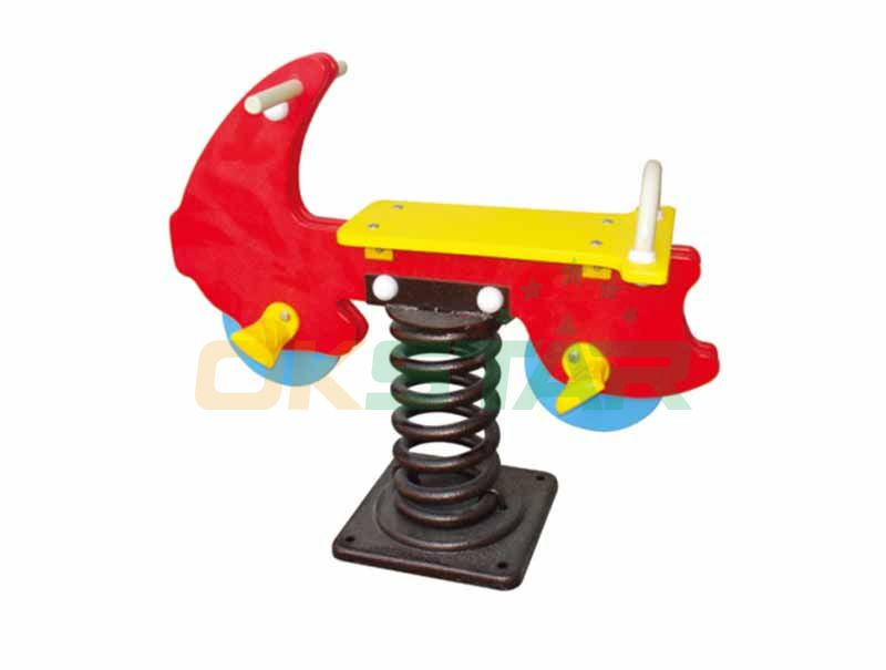 Horse Spring Rider for Outdoor Playground Center