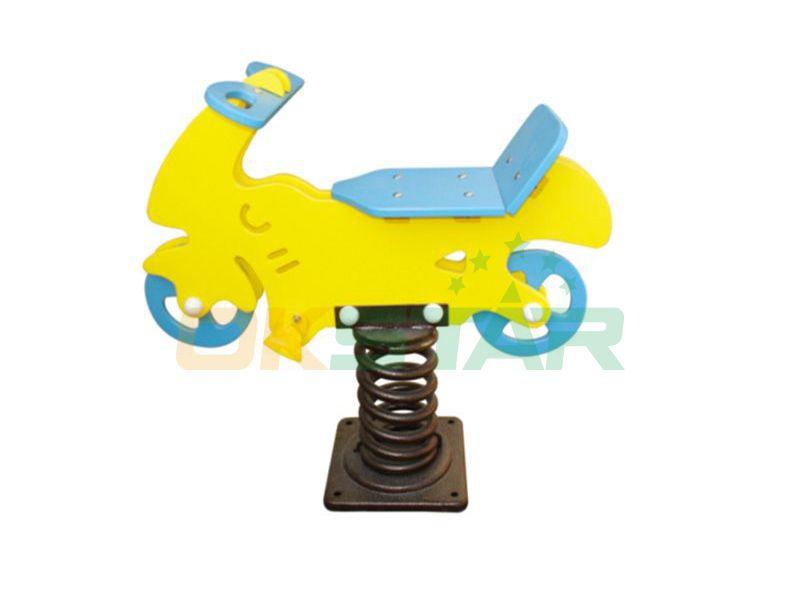 playground outdoor spring toy rider